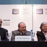 Ruta firmó un convenio con Zaffaroni y Tomada