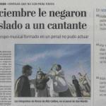 Rimas de Alto Calibre, en La Nación