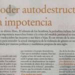 Entrevista a Iaia Caputo en Página 12