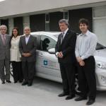Donaron un Peugeot 408 para el nuevo edificio del ICR