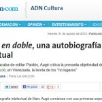 Ana María Vara presentó la autobiografía de Marc Augé en La Nación