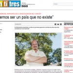 Alejandro Grimson en revista Veintitrés