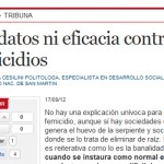 """Sandra Cesilini en Clarín: """"Sabiendo quiénes perpetran el crimen es más sencillo intervenir"""""""