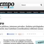 Tiempo Argentino reseña el nuevo libro de UNSAM Edita