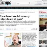 Alejandro Grimson en Tiempo Argentino