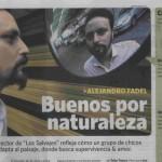 """Clarín reseñó el estreno de """"Los salvajes"""", con música de Santiago Chotsourian"""