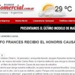 Jacques Rancière en diario El Comercial de Formosa