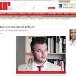 Entrevista a Fernando Peirone en Miradas al Sur