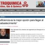 Entrevista a Salvador Gil en la revista Petroquímica