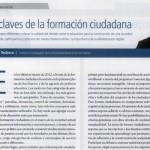 Juan Carlos Tedesco en revista El Cronista