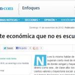 Ana Castellani en La Nación