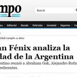 Alejandro Rofman en Tiempo Argentino