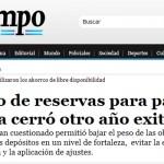 Enrique Dentice en Tiempo Argentino