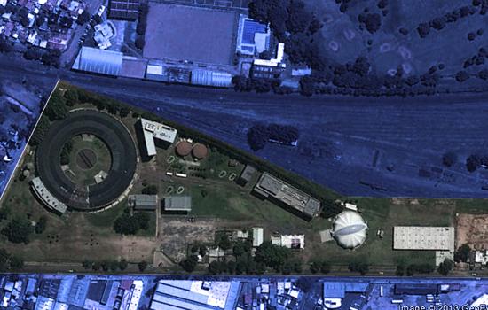 Toma satelital del Campus