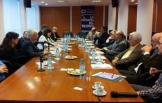 Visita delegación alemana