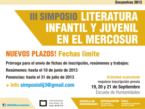 2013 Jornadas Letras - Flyer.IV