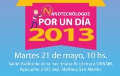 """Concurso """"Nanotecnólogos por un día 2013"""""""