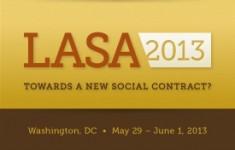 Flyer Congreso LASA 2013