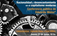 Flyer Eduardo Weisz