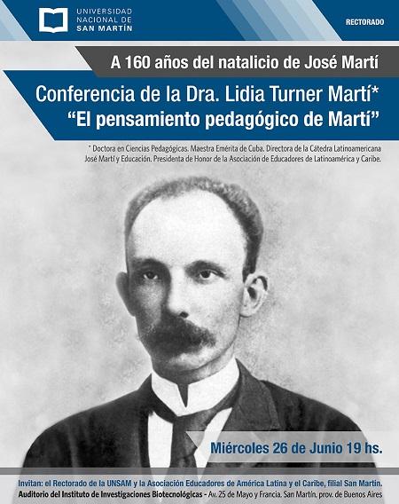 Flyer José Martí
