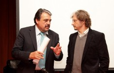 Carlos Ruta y Daniel Cameron