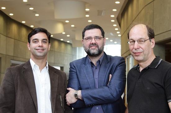 Alexandre Roig, Luis Alberto Riart Montaner y Francisco Parisi