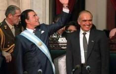 Menem y Ruckauf, primeros en las elecciones de 1995. Foto: Archivo La Nación