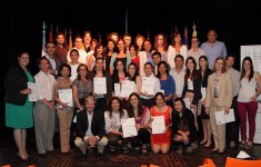 Se entregaron los títulos del Diplomado en Cooperación Internacional