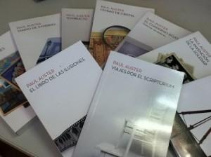 Libros Paul Auster