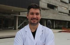 Adrián Mutto, ganador del premio Bernardo Houssay por el desarrollo de la vaca Rosita ISA. Foto: Alejandro Zamponi