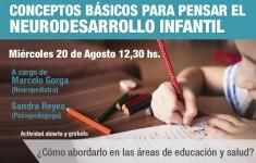 Flyer Neurodesarrollo Infantil