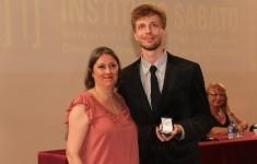 Premio de la Academia Nacional de Ingenieria a un egresado del Instituto Sabato