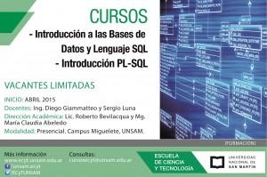 Cursos BD y SQL