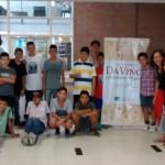 """La Escuela Secundaria de la UNSAM visitó la muestra """"Leonardo da Vinci, el laboratorio del genio"""""""