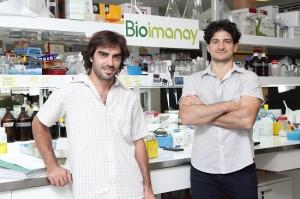 Federico Marque junto a Martin Blasco