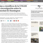 Premio a docentes de la ECyT en Clarín