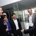 Miguel Galuccio, CEO de YPF,  visitó la UNSAM y se reunió con el rector Carlos Ruta