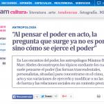 Entrevista a Máximo Badaró, en Télam