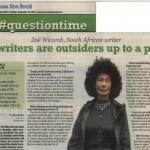 Entrevista a Zoë Wicomb, en Buenos Aires Herald
