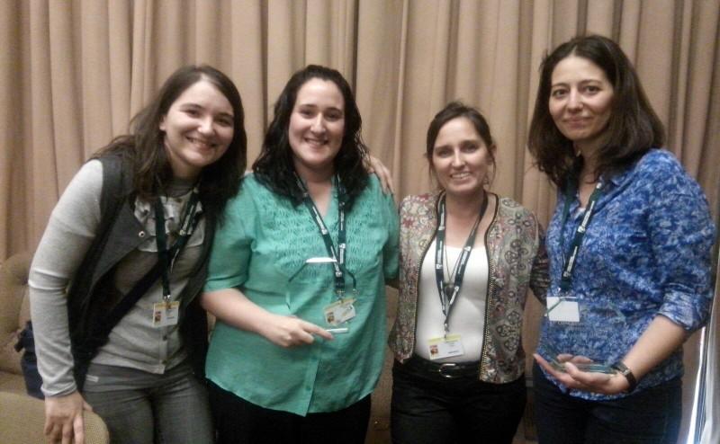 Alumna e investigadoras premiadas