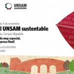 Se inaugura el programa UNSAM Sustentable con un festival en el Campus