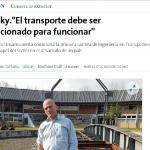 Entrevista a Fernando Dobrusky, en La Nación
