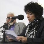 La escritora Luisa Valenzuela ofreció una charla en el Campus