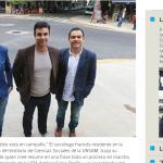 Entrevista a Alexandre Roig, en Tiempo Argentino