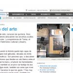 Entrevista a Néstor Barrio, en Página 12