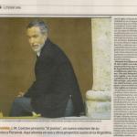 Entrevista a J. M. Coetzee, en Revista Ñ