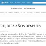 Columna de Ricardo Romero, en Tiempo Argentino