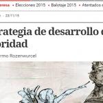 Guillermo Rozenwurcel escribió sobre el resultado electoral en Clarín