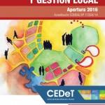 Nueva Maestría en Política y Gestión Local