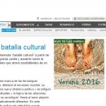 Columna de Fernando Peirone, en Página 12